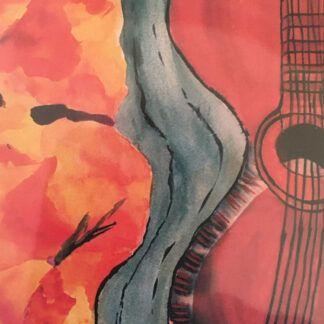 Alfredo's Guitar by Sallie Cross
