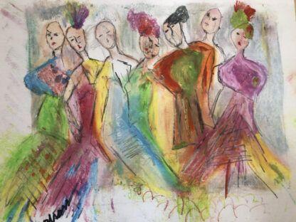 Majesty In Motion by Sallie Cross