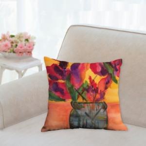 Summer Bouquet Pillow