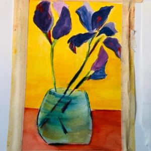 Simple Iris (SOLD)