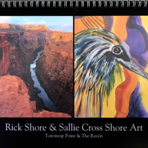 2022 Calendar – Rick Shore & Sallie Cross Shore Art